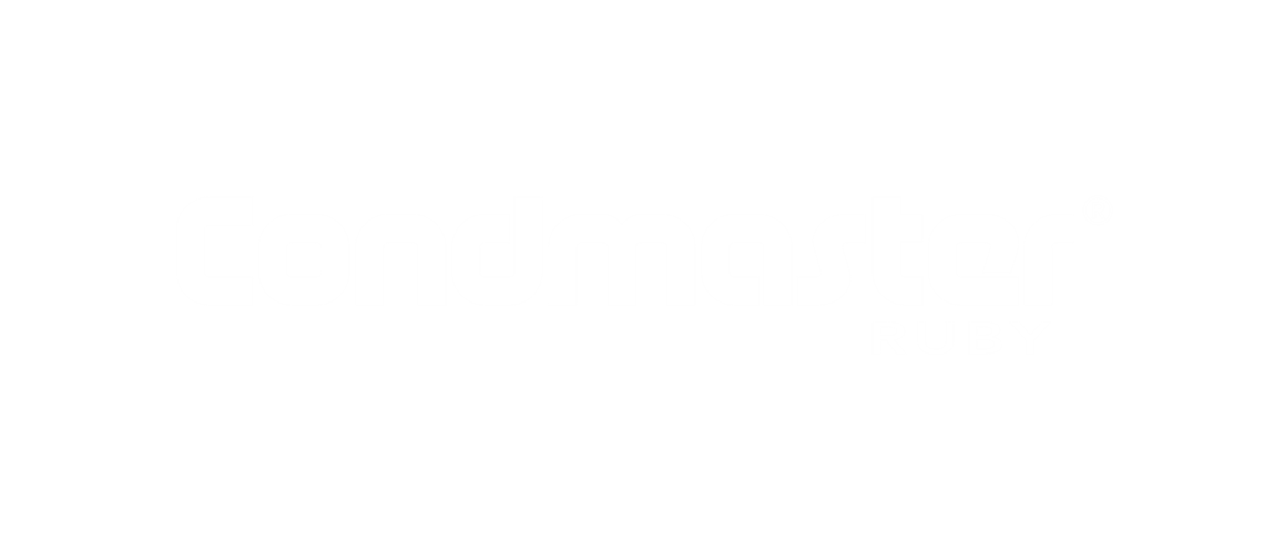 White Condmaster Ruby logotype